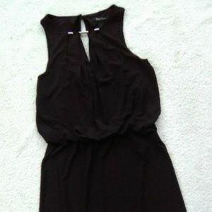 🔥WHBM Blk Cut Out Mini Dress Sz XS 🔥
